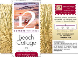Beach Cottage Red