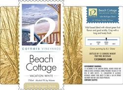 Beach Cottage Vacation White
