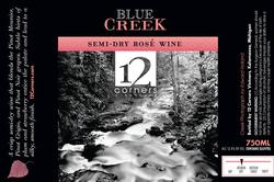 Blue Creek Semi-Dry Rose