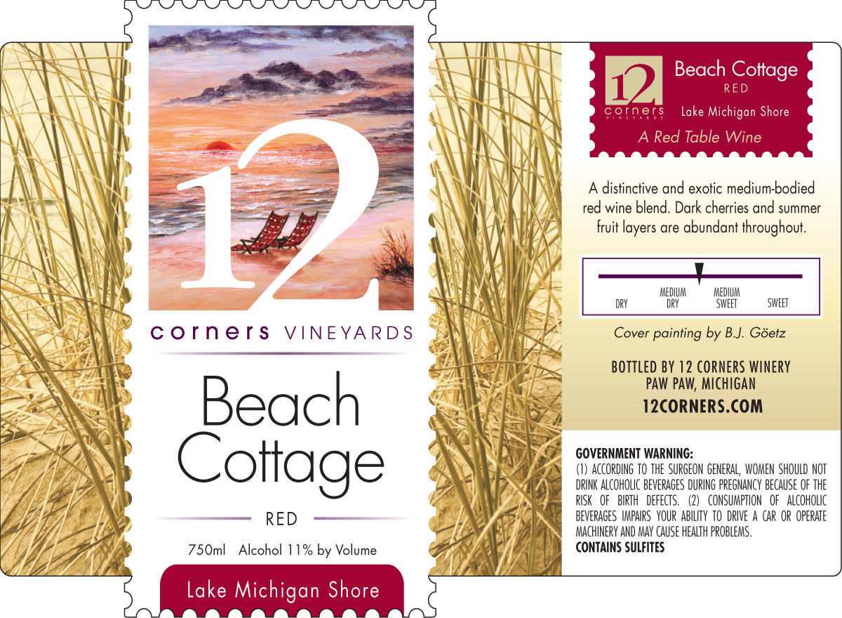 Product Image for Beach Cottage Red