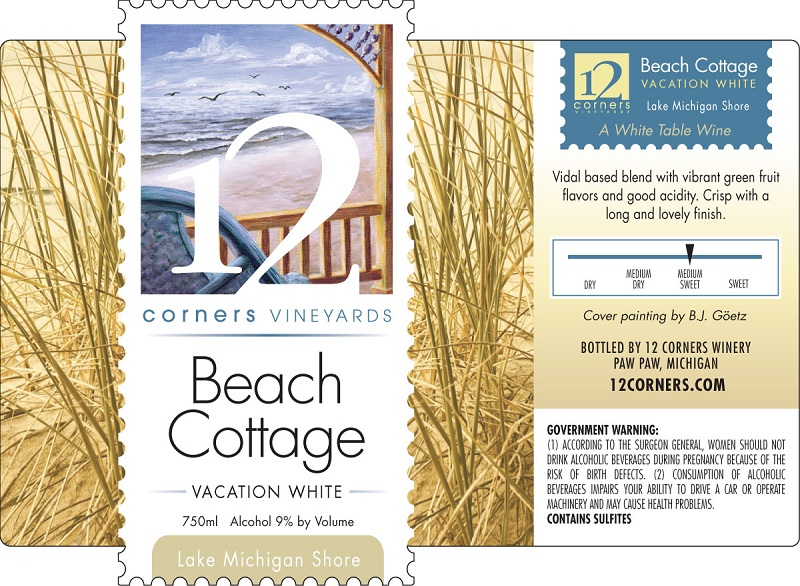 Product Image for Beach Cottage Vacation White