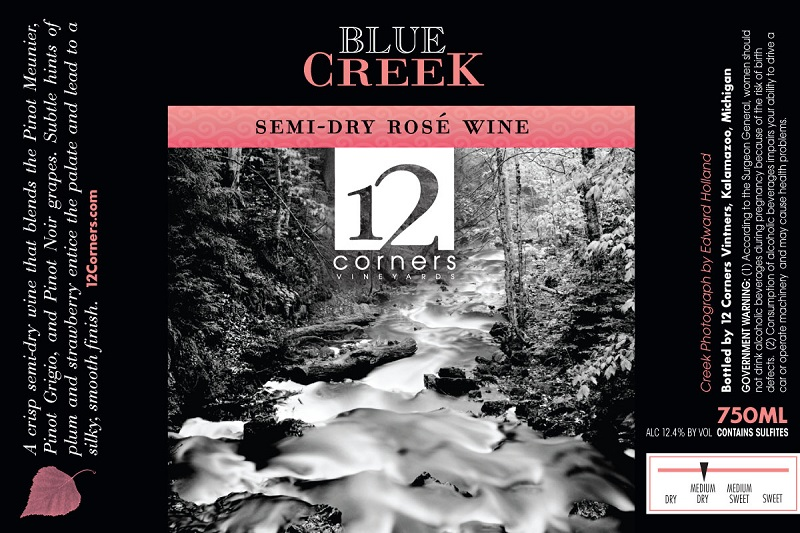 Product Image for Blue Creek Semi-Dry Rose