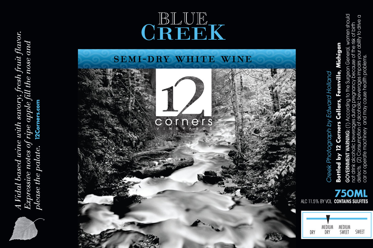 Product Image for Blue Creek Semi-Dry White