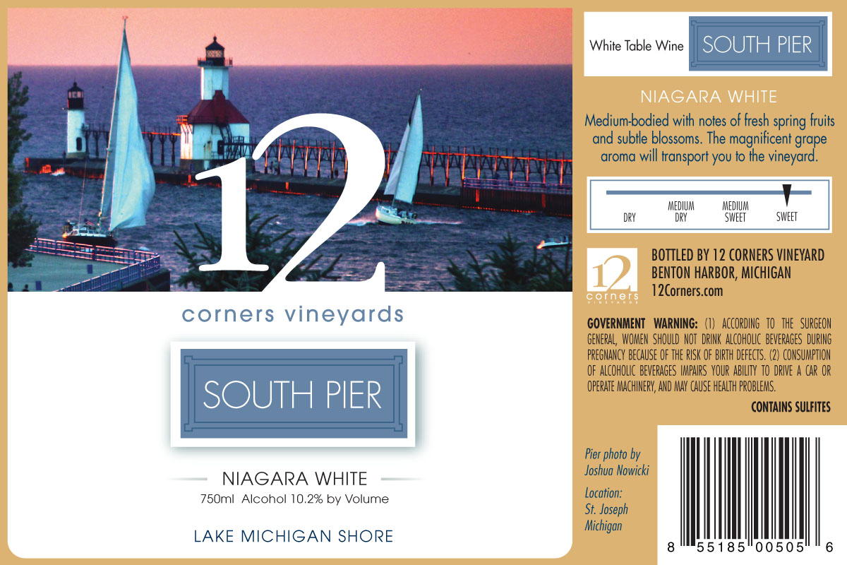 Product Image for South Pier Niagra White